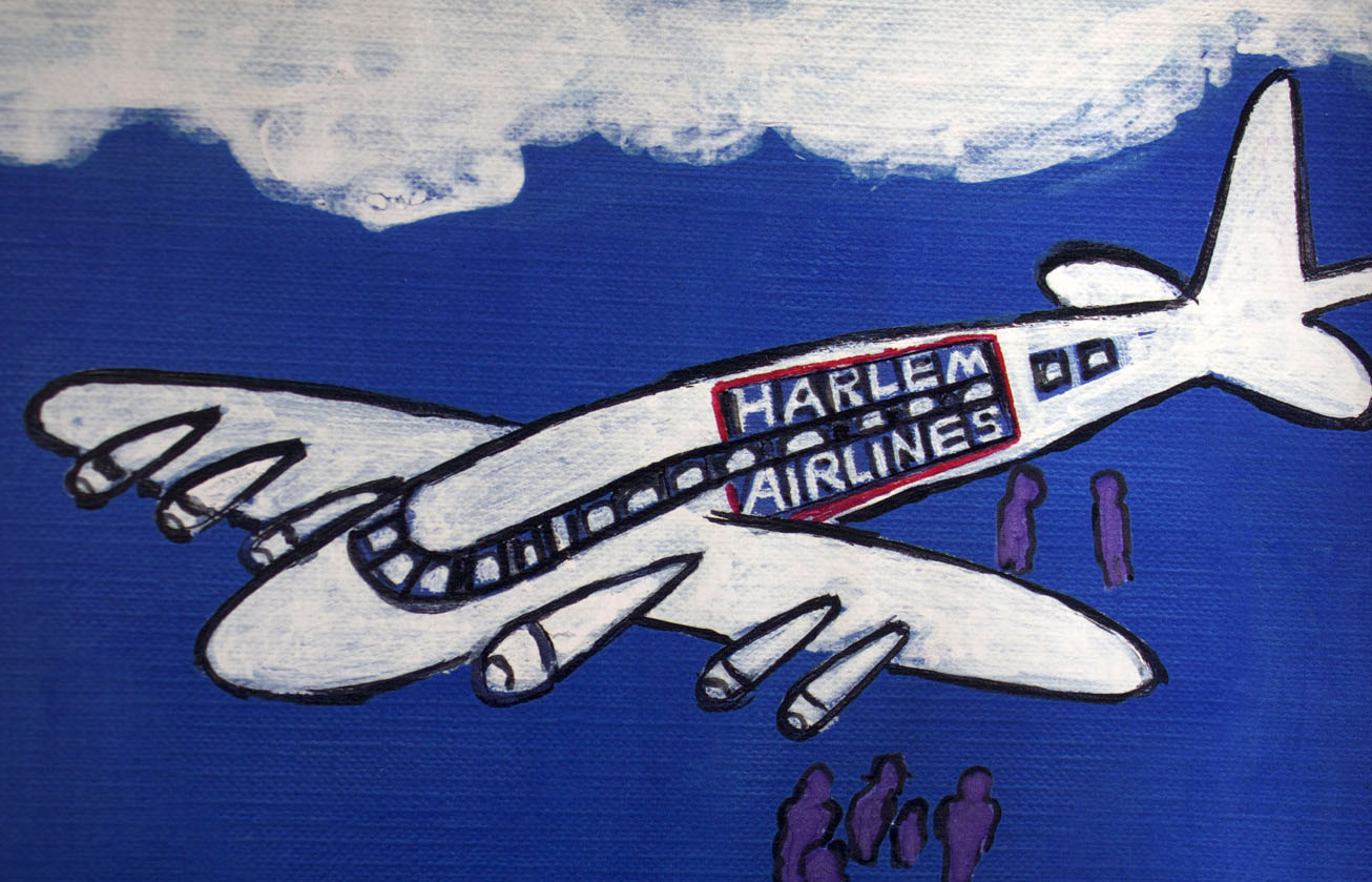 faith ringgold - harlem airlines