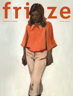 frieze - cover - april 2012