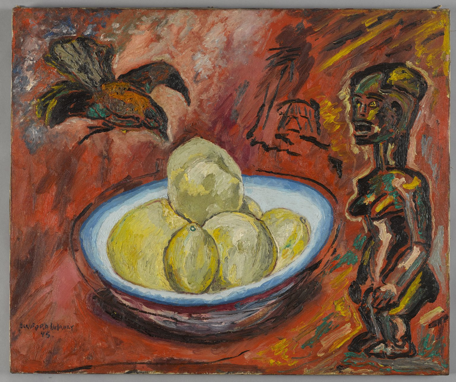 2014.73_PS9 - beauford delaney - fang, crow, and fruit