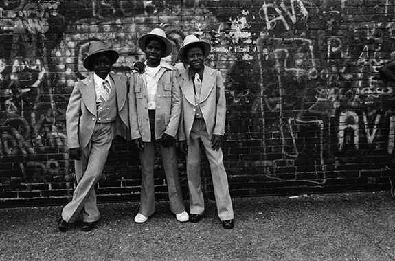Anthonry Barboza - Easter Sunday in Harlem - 1974