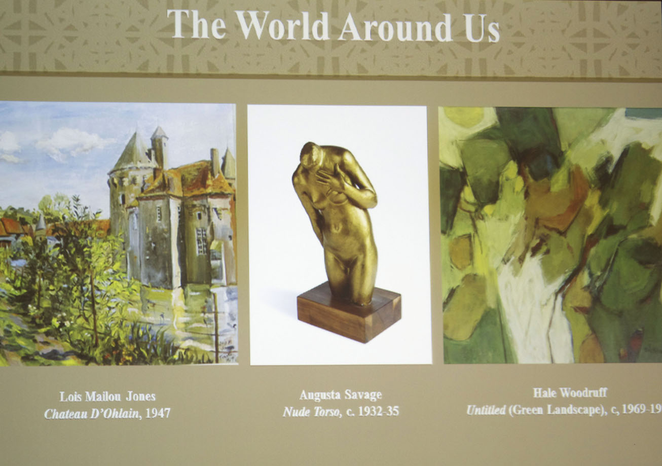 nmaahc - visual art - the world around us