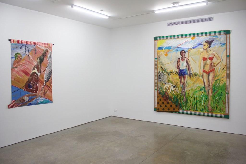 Installation view 2 EMMA AMOS True Colors - Ryan Lee Gallery Photo by Victoria L. Valentine