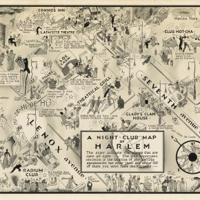 Yale's Beinecke Library Buys $100,000 Map of Prohibition-Era Harlem