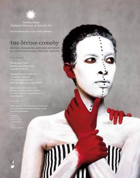 divine comedy exhibition at national museum of african art
