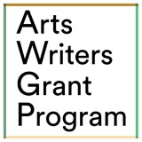 Arts Writers Grant logo
