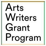 Arts Writers Grant logo