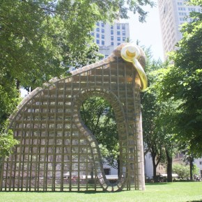 Martin Puryear Appreciates the Dichotomy of 'Big Bling,' His Largest Sculpture to Date