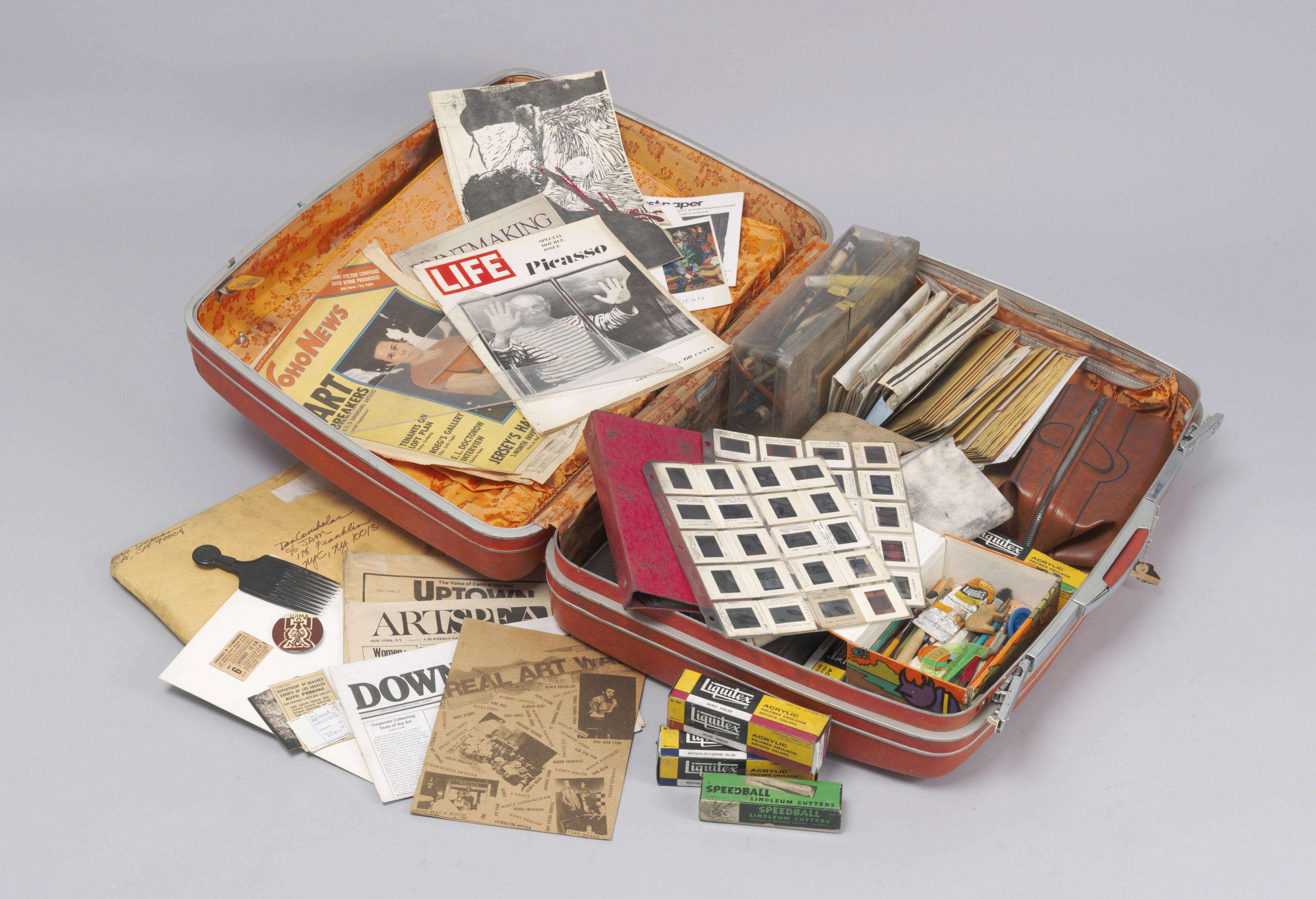 Dan Concholar - Suitcase - c. 1980
