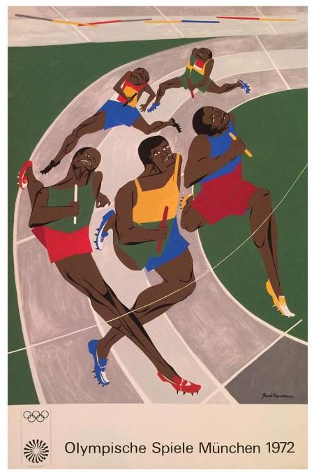 JACOB LAWRENCE - Olympics - 1972