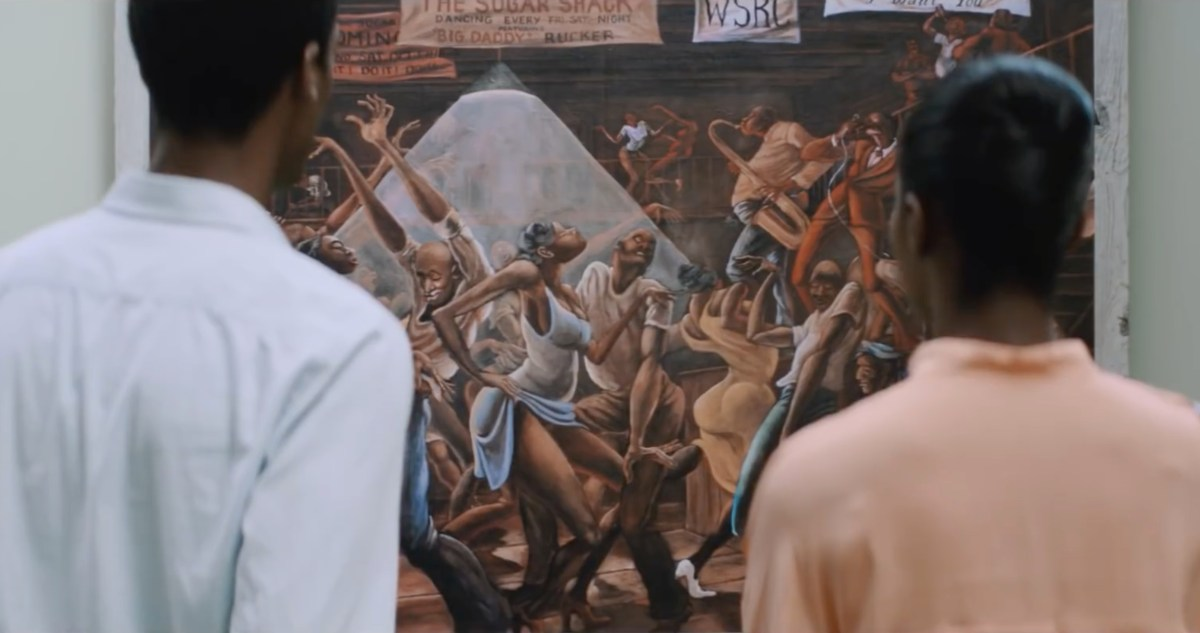 In First Date Movie 'Southside With You,' Paintings by Ernie Barnes Fuel Connection Between Barack and Michelle Obama