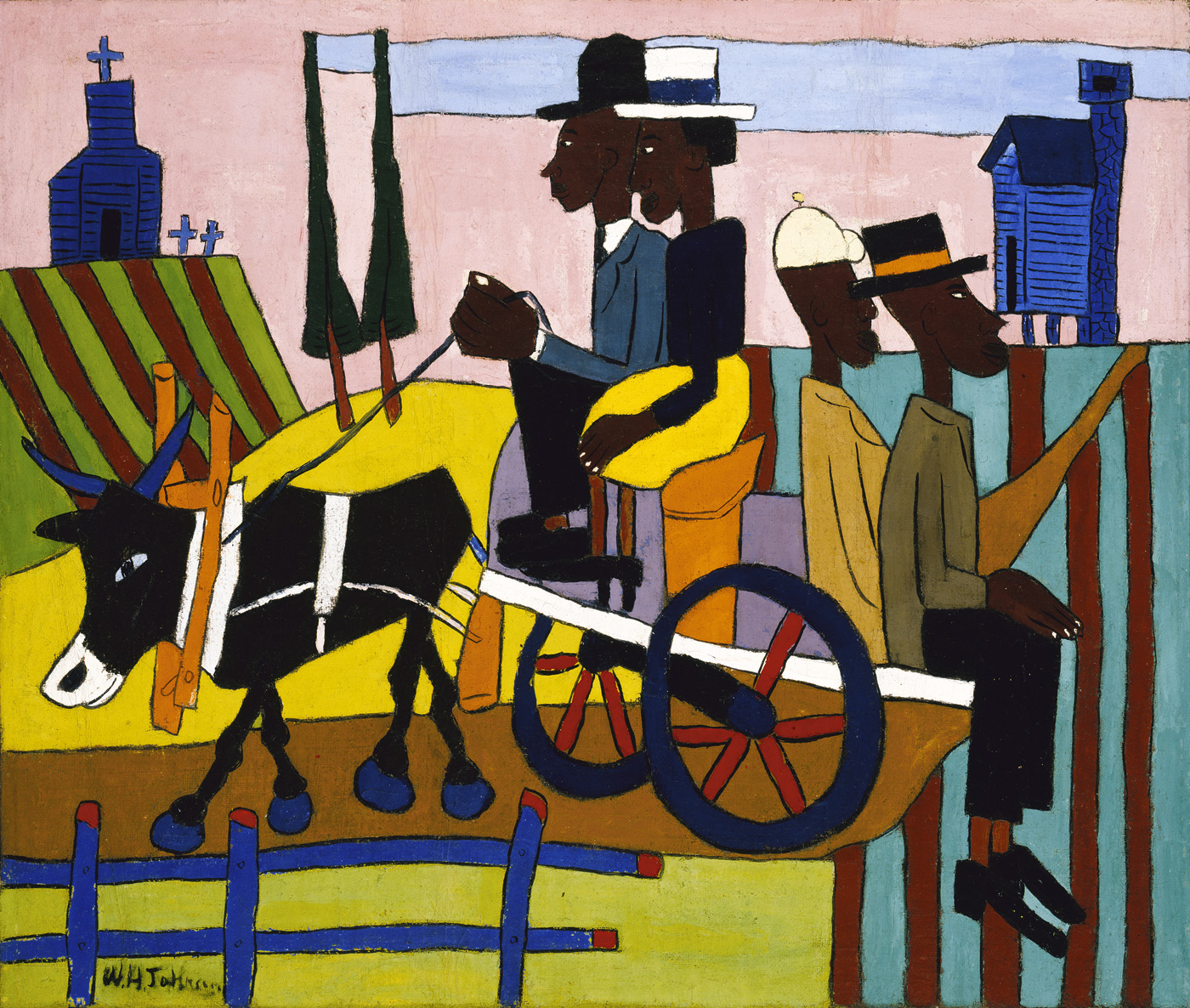 william-h-johnson-going-to-church-1940-41-saam