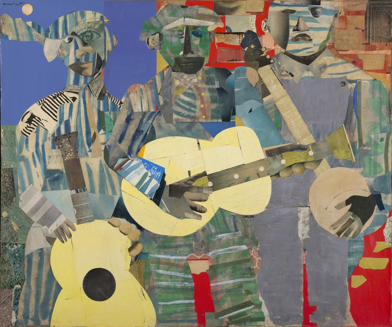Virginia Museum Acquires \'Three Folk Musicians\' by Romare Bearden ...