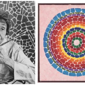 Auction Record: Alma Thomas's 1969 Vision of 'Spring Flowers' Yields More Than $300K