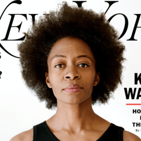Kara Walker Covers New York Magazine's Special Art & Design Issue