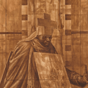 'Black Pope' by Charles White is Going on View at Museum of Modern Art in October