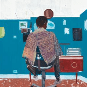 Auction Record: At Phillips London, Barbershop Painting by Hurvin Anderson Soars to Nearly $2.4 Million