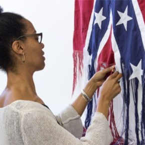 PAFA Has Acquired a Confederate Flag. Artist Sonya Clark is 'Unraveling' it Nov. 4