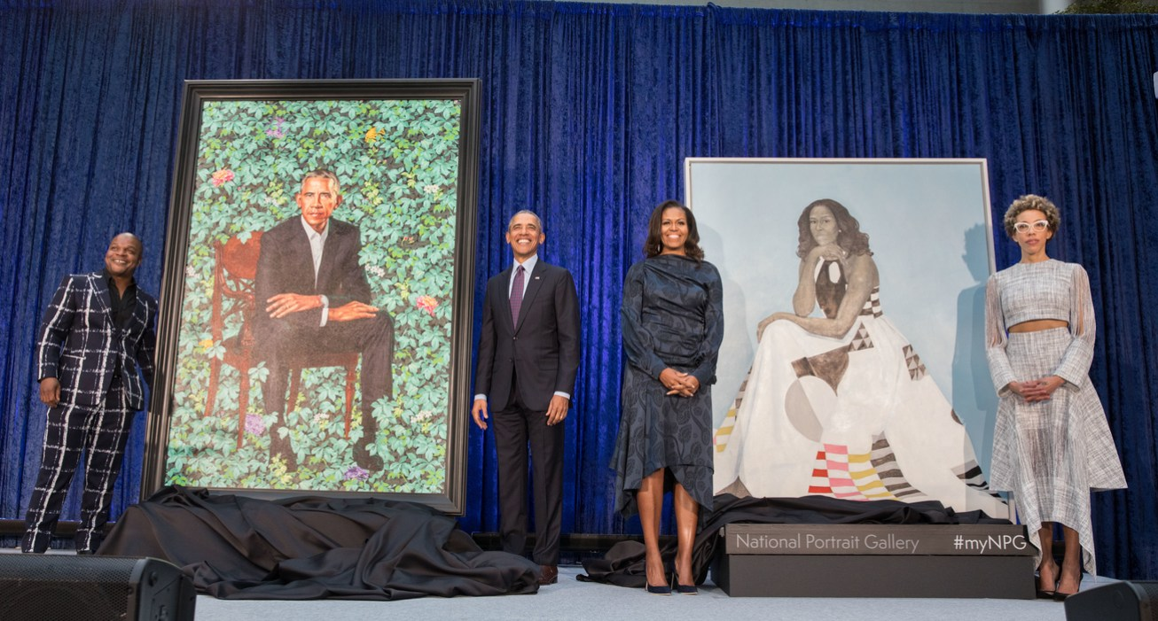 The first black President and First Lady continue their groundbreaking  support of the arts by choosing African American ... 0db3b57718102