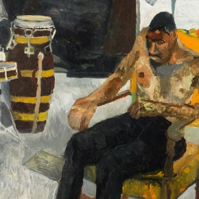 Speed Art Museum Acquires Bob Thompson Painting, a Self-Portrait of the Louisville Native