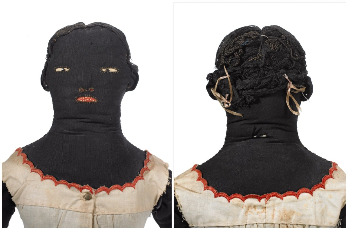 In Paris, Black Doll Exhibition Explores Women's Craft, History of Childhood Play, and Dynamics of America's Racial Structure