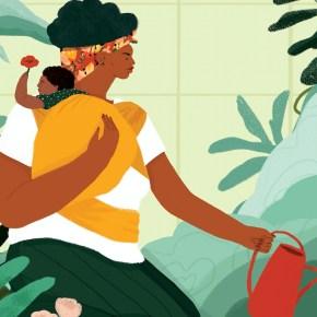 Fresh From Art School, Illustrator Loveis Wise Lands New Yorker Cover