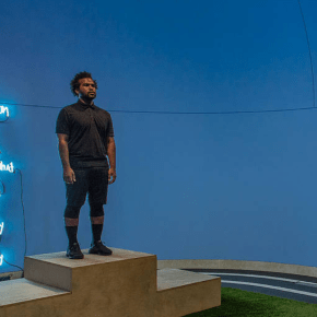 For Made in L.A. Biennial, Artist EJ Hill is Taking a Stand in the Name of 'Excellence, Resilience, and Victory'