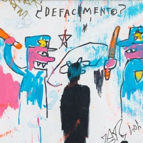Guggenheim Mounting Exhibition Focused on Jean-Michel Basquiat's 'Defacement' Painting About Police Brutality