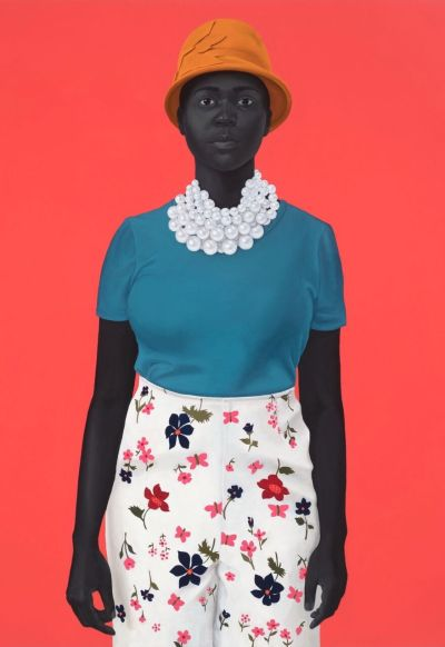 "official photos 634c9 346c9 AMY SHERALD, ""she had an inside and an outside now and suddenly she knew  how not to mix them,"" 2018 (oil on canvas, 54 ×43 inches)."