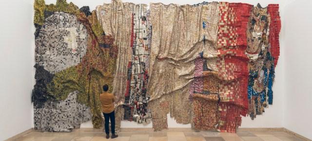 On View: 'El Anatsui: Triumphant Scale' at Haus de Kunst Museum, Munich