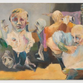 Artist Vivian Browne's Tantrum-Throwing Subjects Epitomize White-Male Privilege