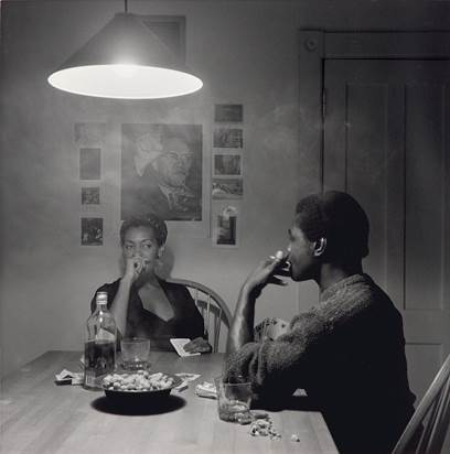 Photograph From Kitchen Table Series By Carrie Mae Weems
