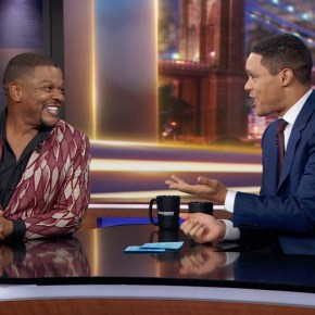 Artist Kehinde Wiley Talks About President Obama and His 'Rumors of War' Monument on The Daily Show with Trevor Noah