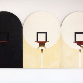 A Masterful Portrait Painter, Barkley L. Hendricks Produced an Early Series of Basketball Paintings Grounded in Abstraction