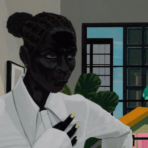 Paintings by Jordan Casteel and Kerry James Marshall Cover September Issue of Vogue
