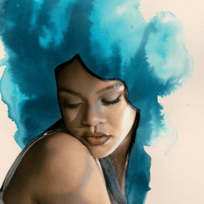 Iconic Lorna Simpson Portrait of Rihanna Covers January/February Essence Magazine
