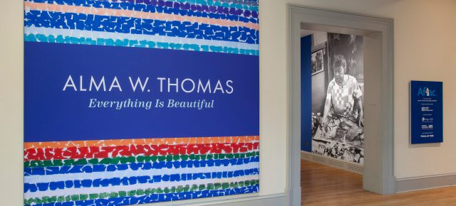 On Occasion of New Exhibition 'Alma Thomas: Everything is Beautiful,' Curators and Scholars Reflect on Lesser-Known Aspects of Artist's Life and Work