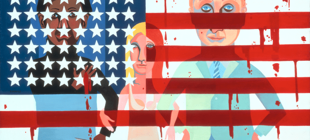 National Gallery of Art Acquires Faith Ringgold's 'Flag is Bleeding' Painting: May Be Museum's 'Most Important Purchase of a Single Work of Contemporary Art' Since 1976