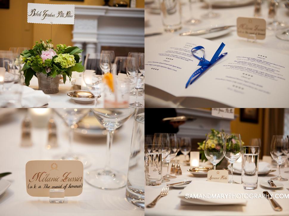 Le Cordon Bleu Wedding