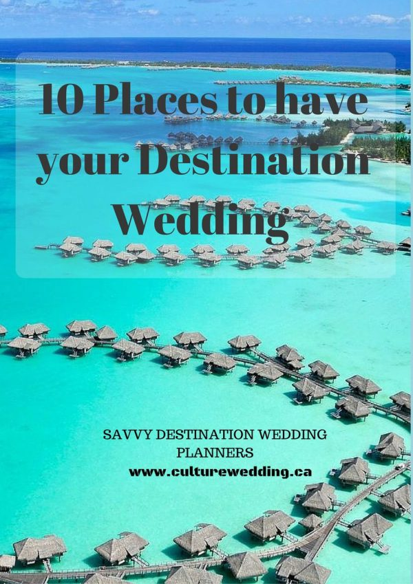 all-inclusive destination wedding, where to have your destination wedding