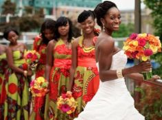 African bridesmaids dresses 1