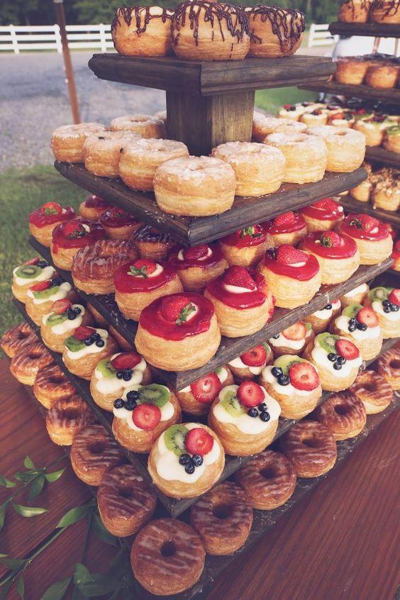 Donut Station Wedding