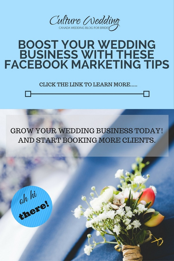 Boost your Wedding Business with these Facebook Marketing tips