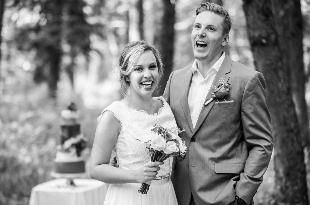 A Fun and Glamorous Rustic Wedding Style shoot in Calgary Alberta