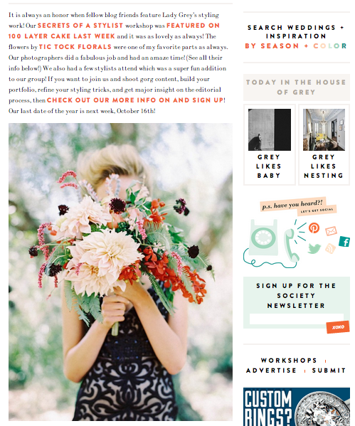 The top 10 wedding blogs to help plan your wedding culture grey likes weddings junglespirit Image collections