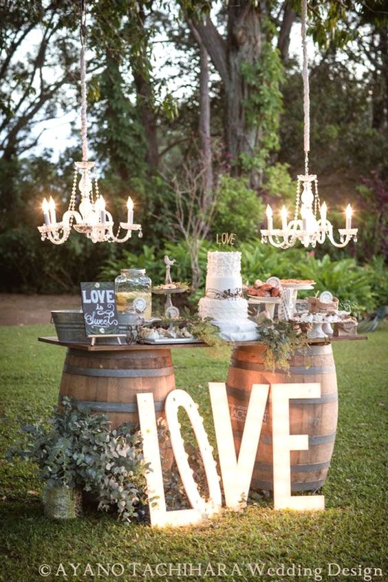 10 of the best outdoor wedding ideas from pinterest culture wedding cake outdoor decor junglespirit Gallery