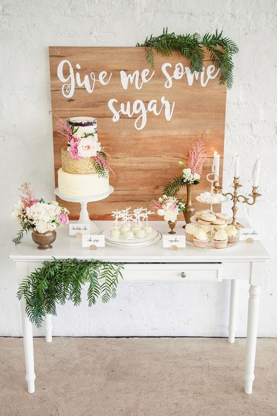 Dessert Table Ideas For Weddings, What To Put On A Dessert Table, Dessert  Table