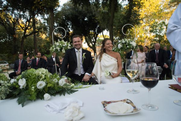 A Gorgeous and Romantic Destination Wedding in Rome