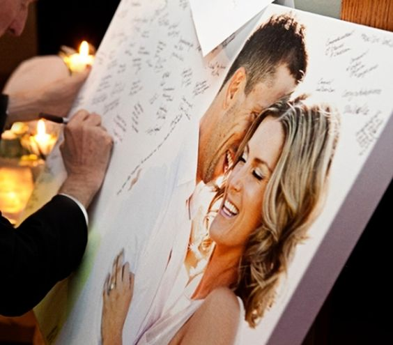 Creative Ideas For Guest Books At Weddings: 10 Wedding Guest Book Alternatives Ideas For Your Wedding