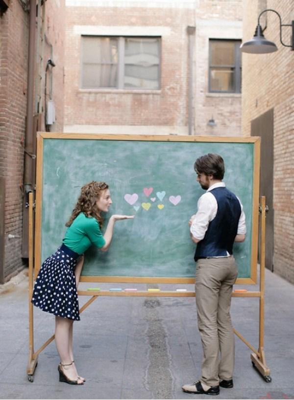 Unique Engagement Photo ideas. How to plan a unique and creative engagement shoot.