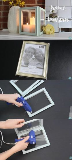 diy frame lantern. kate spade wedding decor ideas. DIY Wedding decoration from the dollar store. Affordable wedding decoration ideas. Dollar Store Home Decor DIY! How to plan a wedding on a budget. Brides on a budget. How to decorate on a frugal budget. #weddingdecor #budgetwedding how to save money on a wedding.